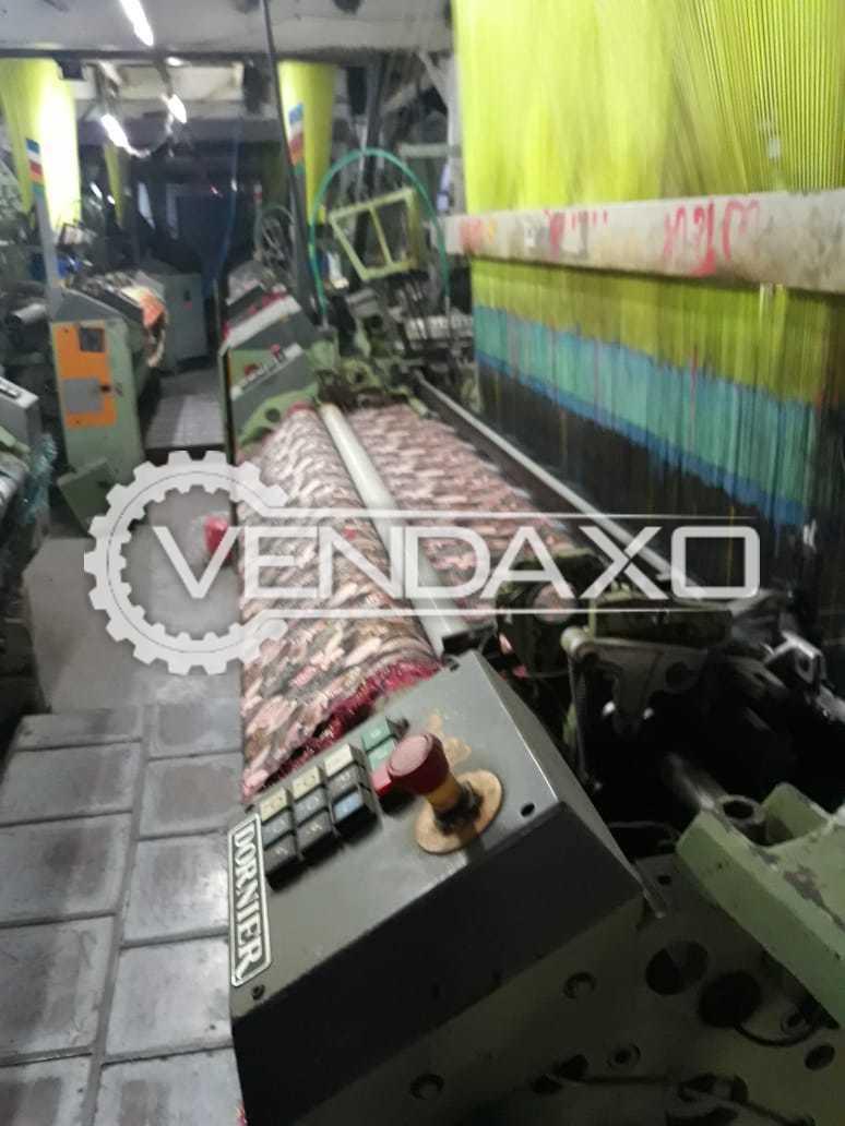 Dornier HTVS 8/J Rapier Loom Machine - Width - 180 CM