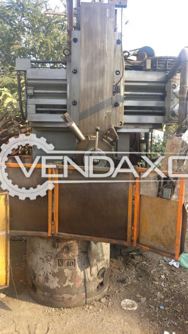 Morando Vertical Turret Lathe Machine - Diameter - 900 mm