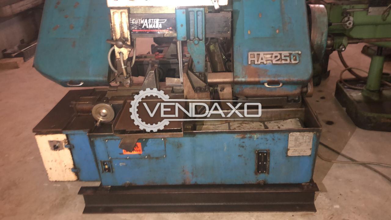 AMADA HA 250 Bandsaw Machine - 250 MM