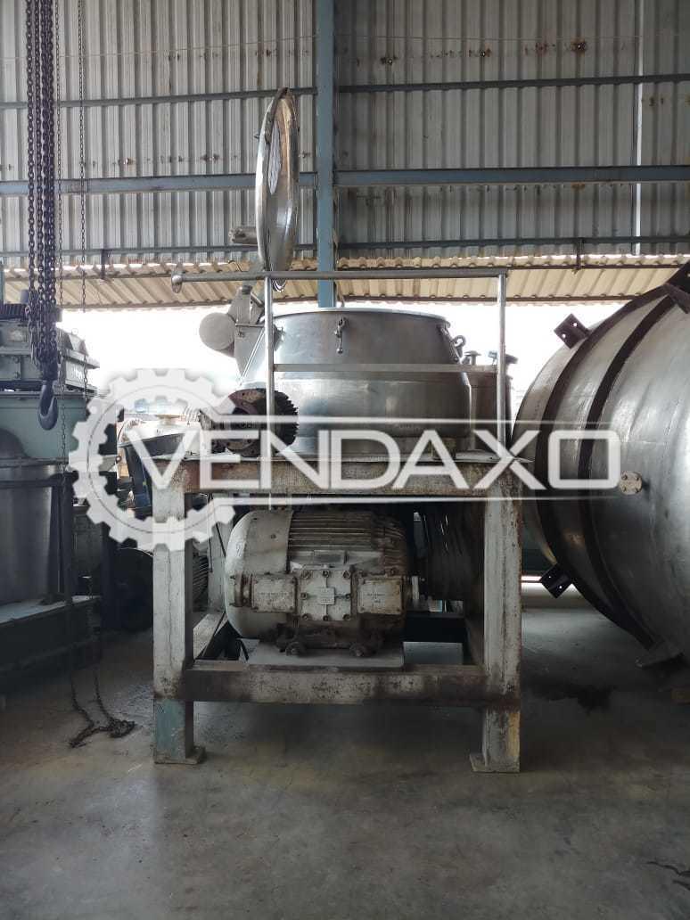 SS 316 Rapid Mixing Granulation (RMG) - GMP Model - 1200 Ltr