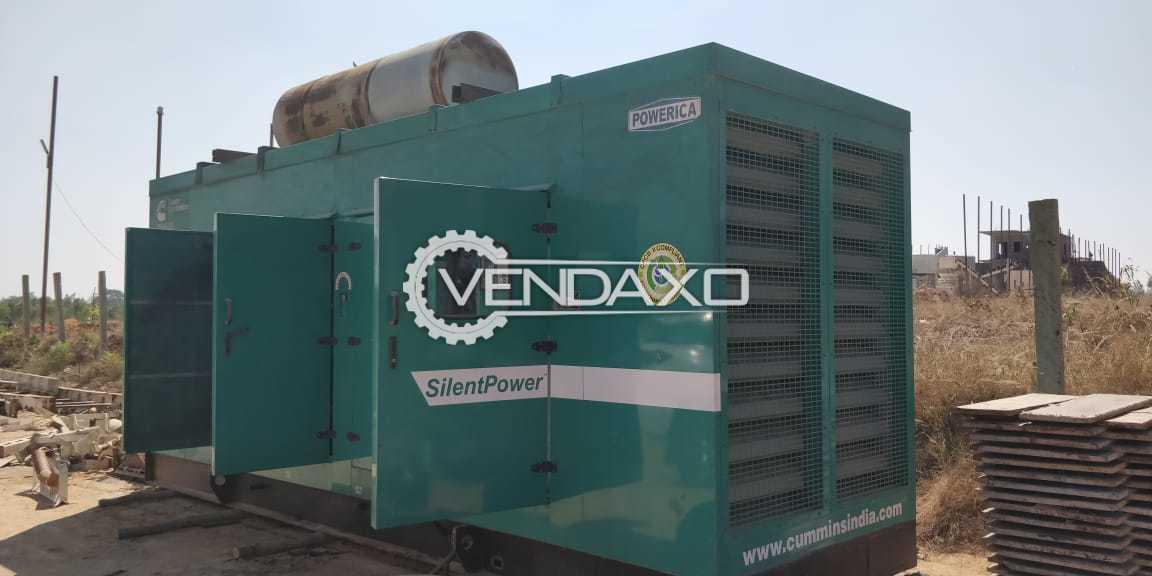 Cummins Silent Diesel Generator - 250 kva