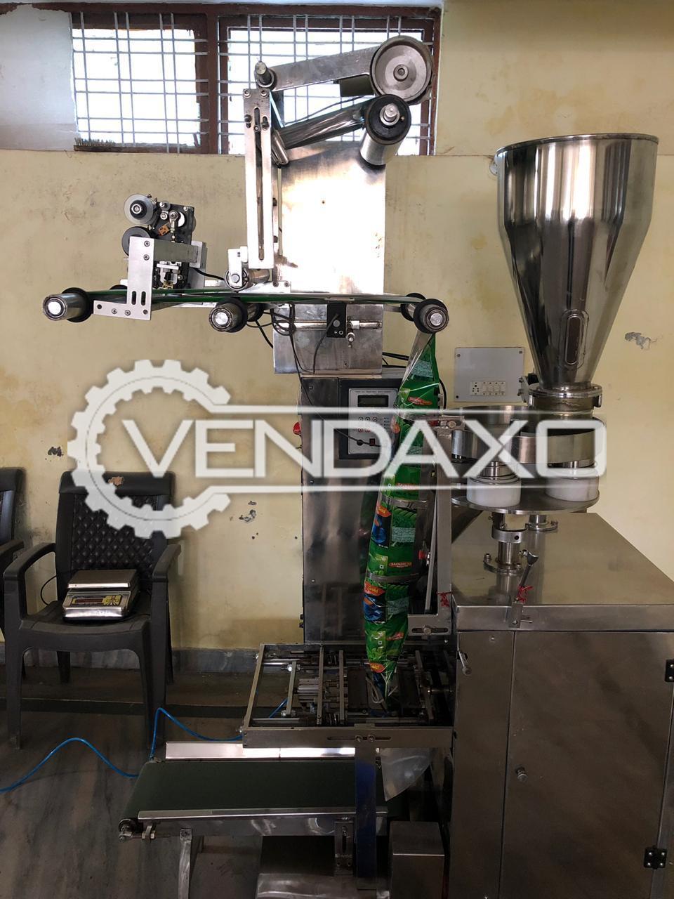 Pneumatic Packaging Machine for Tea/ Namkeen Plant - 50 to 250 GM