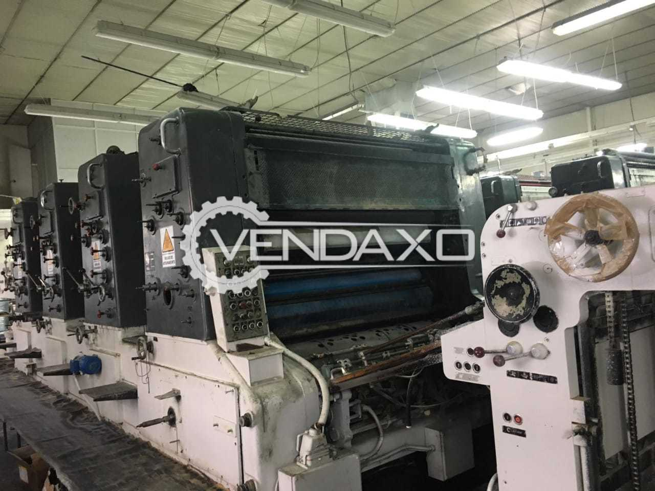 Man Roland Ultra 04-VII Printing Machine - 4 Color