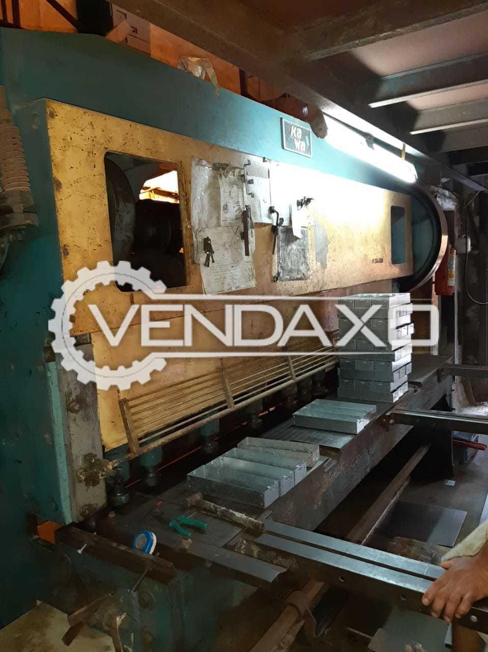 Hydraulic Shearing Machine - 2500 x 6 mm