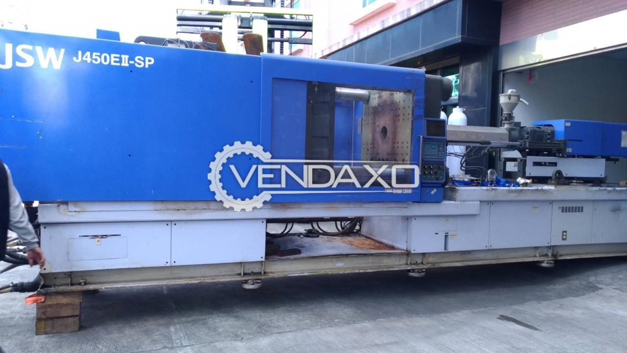 JSW J450EII-SP Injection Moulding Machine - 450 Ton