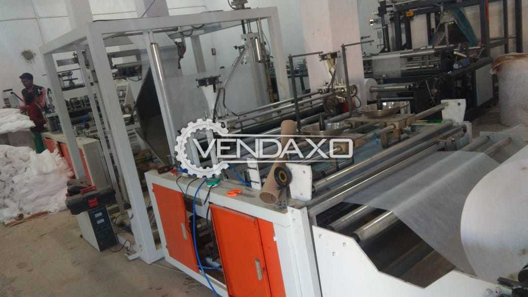 Non Woven Bag Making Machine - Automatic, 2015 Model