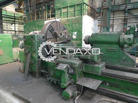 Skoda sr 1600 lathe machine 4