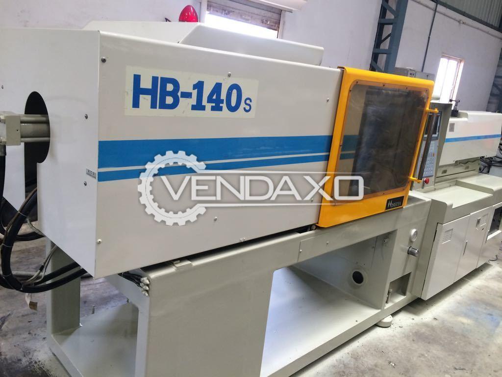 HISHIYA HB-140S Injection Moulding Machine - 140 Ton