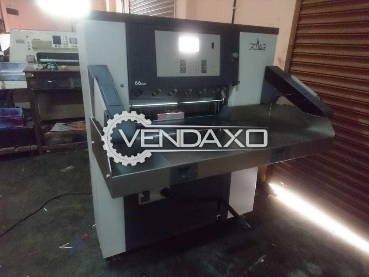 Polar 66 Eco Paper Cutting Machine - 66 CM