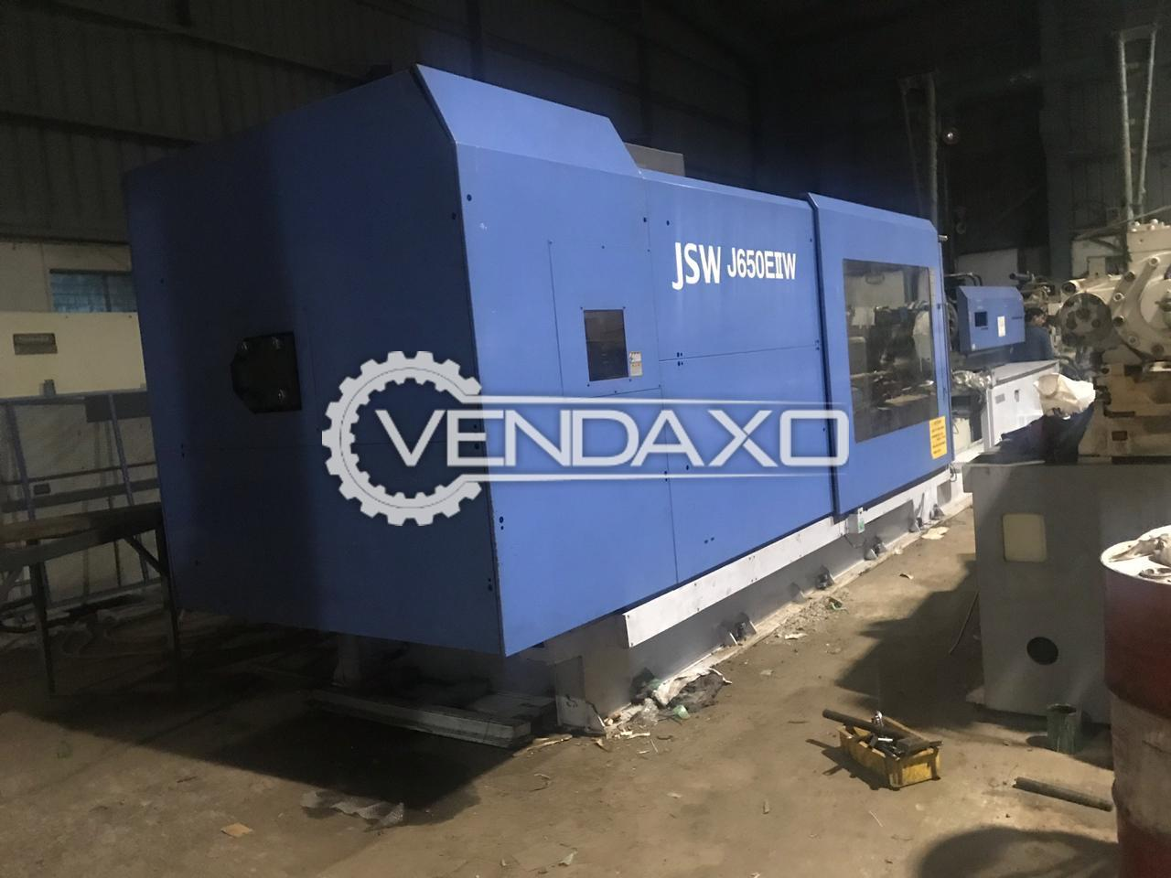 JSW J650EIIW Injection Moulding Machine - 650 Ton