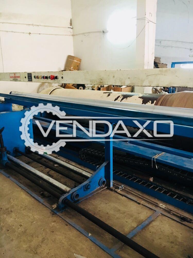 Veltex Make Warping Machine - Width - 3600 mm, 2016 Model
