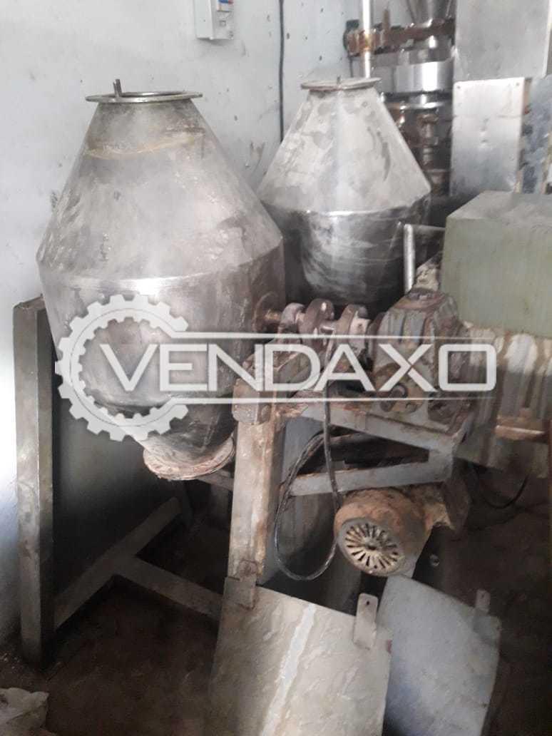 Cone  Blender - 25 Kg