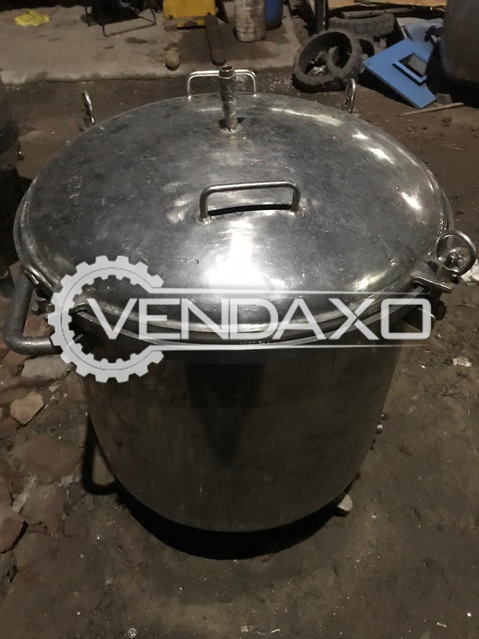 Double Cone Rotary Vacuum Dryer (RVD) - 400 Ltr