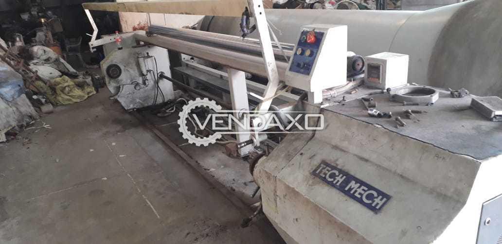Tech-Mech Sectional Warping Machine - Beam Diameter - 800 to 1000 mm