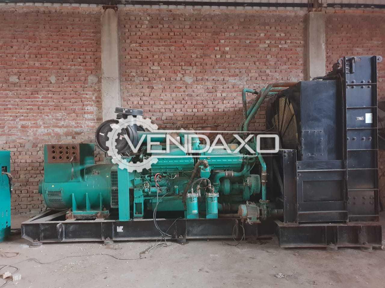 Cummins Diesel Generator - 1000 kVA