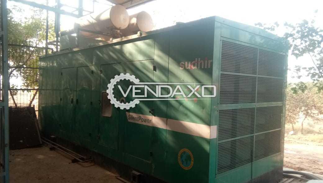 Cummins Silent Diesel Generator - 1010 kVA