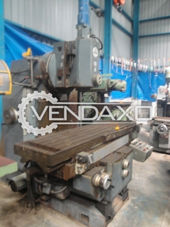 Oerlikon no. 5 horizontal milling machine 4