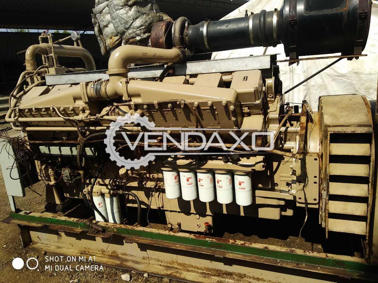 Cummins  KTA50 - G3 Diesel Generator - 1250 kVA