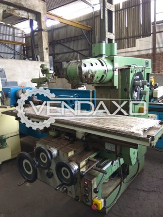Alcera 1203 universal milling machine 3