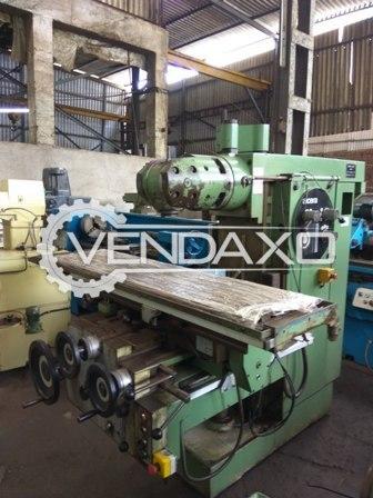 Alcera 1203 universal milling machine 4