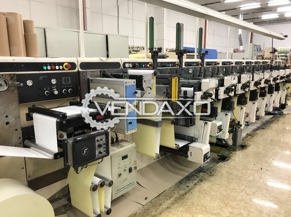 NILPETER GLS Flexo Label Printing Machine - Width - 330 mm