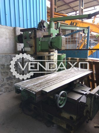 Vernier db 520 horizontal milling machine 2