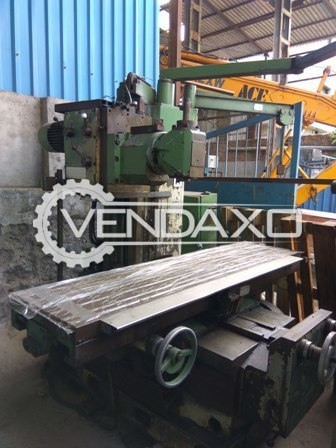 Vernier db 520 horizontal milling machine 4