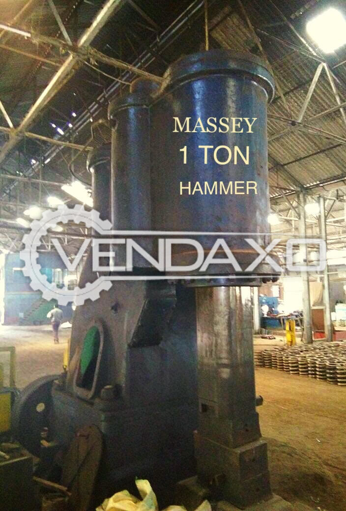 Pneumatic Forging Hammer 1 Ton