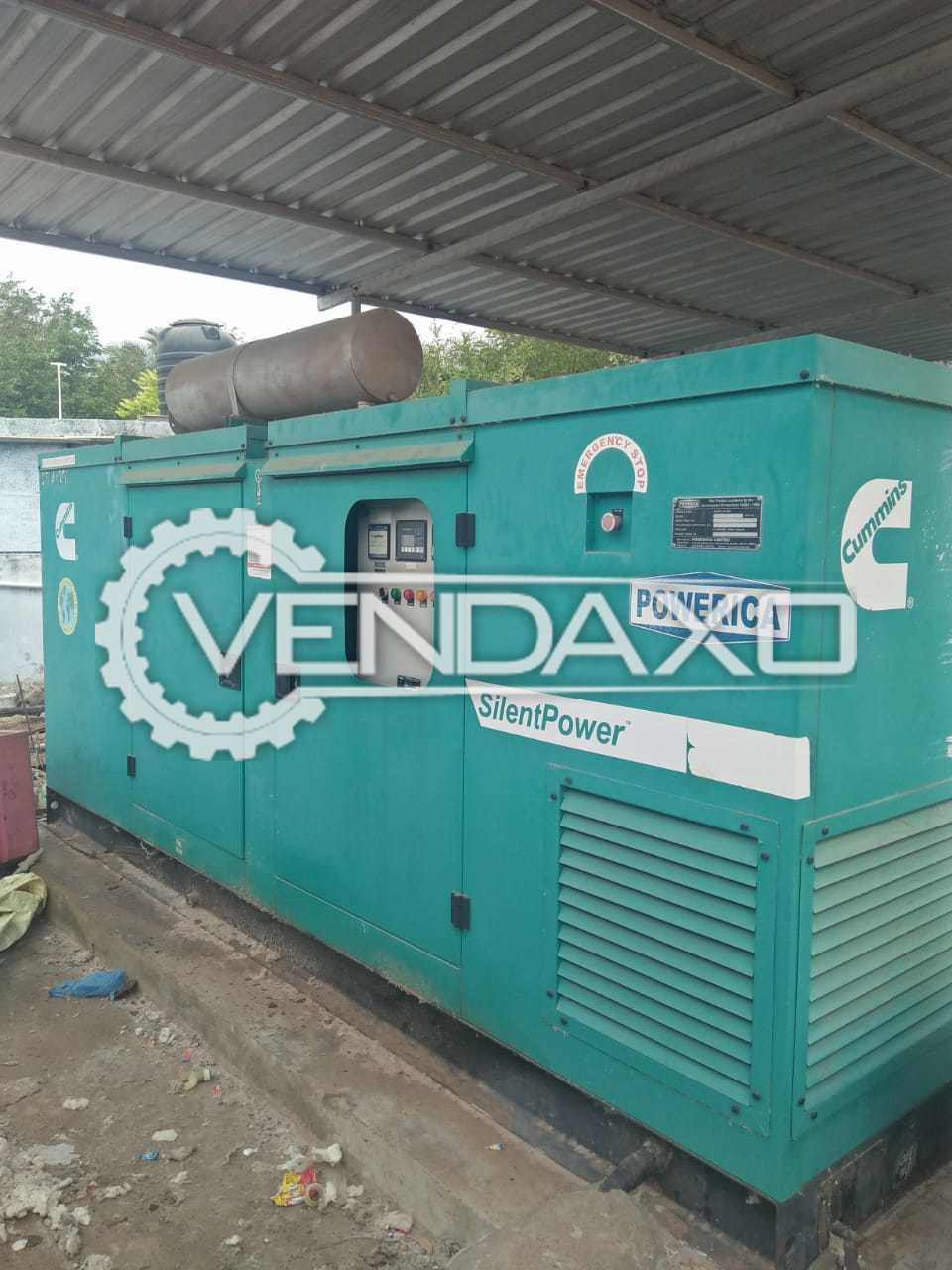 Cummins Silent Diesel Generator - 140 kVA