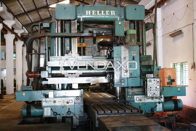 Used Heller Plano Miller Machine Table 1250 X 8000 Mm For Sale