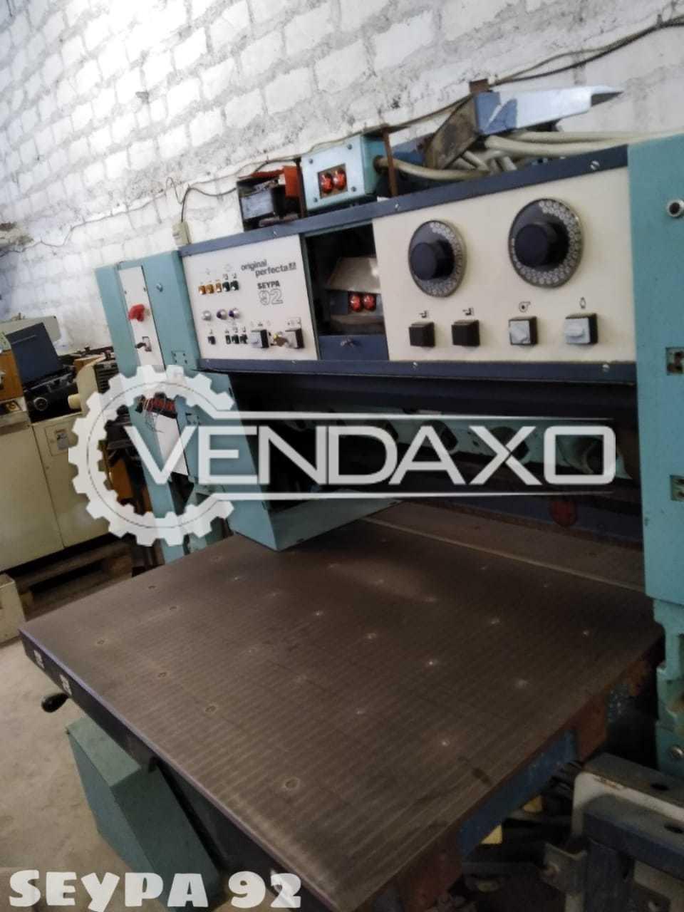 Perfecta Seypa 92 Paper Cutting Machine - Size - 36 Inch