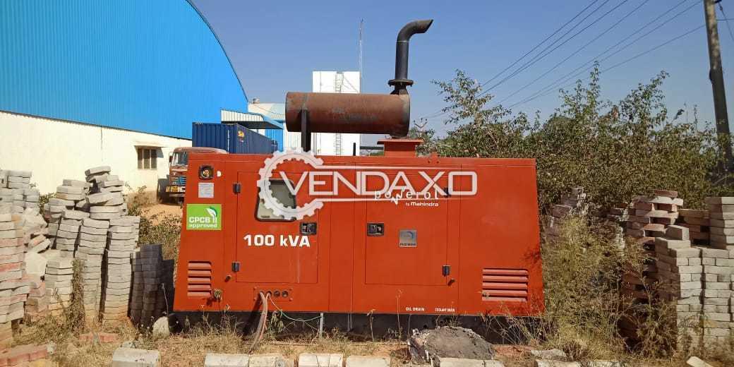 Leroy Somer PG100STDP3R Diesel Generator - 100 kVA