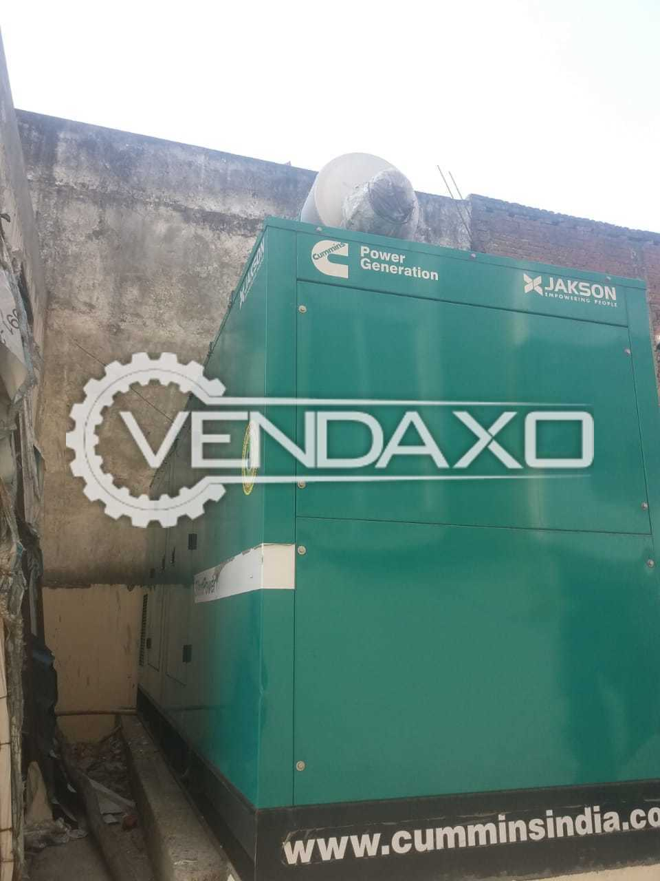 Cummins JSP 250 Q Silent Diesel Generator - 250 kVA