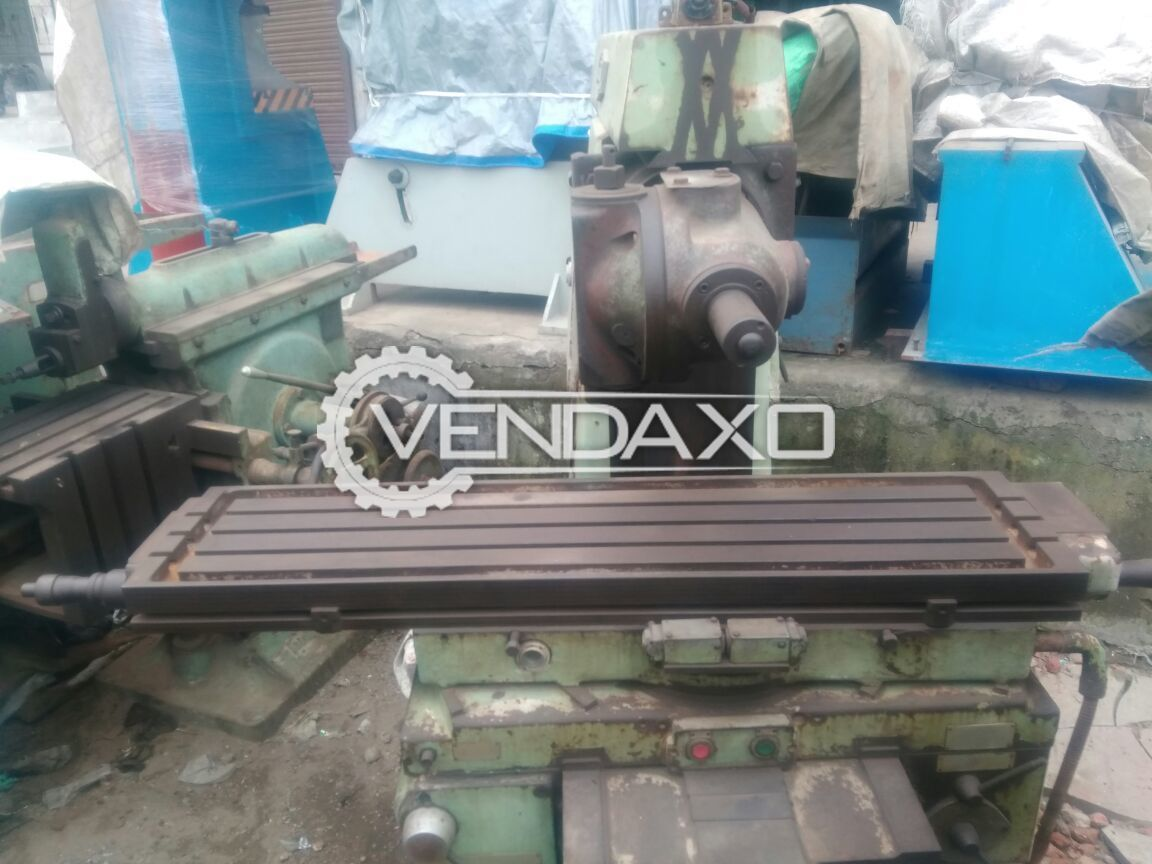 Horizontal and vertical milling machine size no. 3