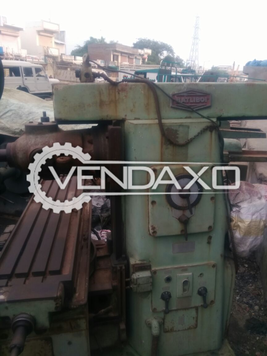 Horizontal and vertical milling machine size no. 3 2