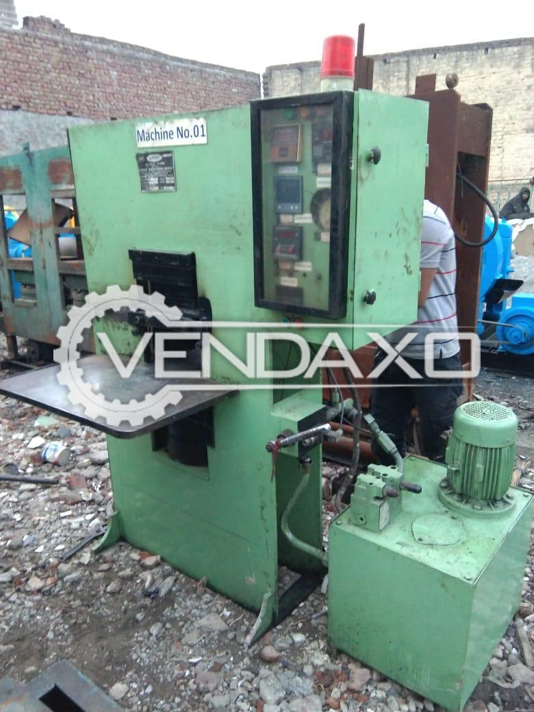 Rubber Moulding Press Machine - 12 X 12 Inch