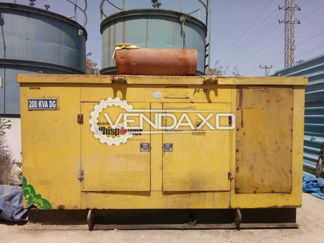 Crompton Greves Diesel Generator - 200 KVA