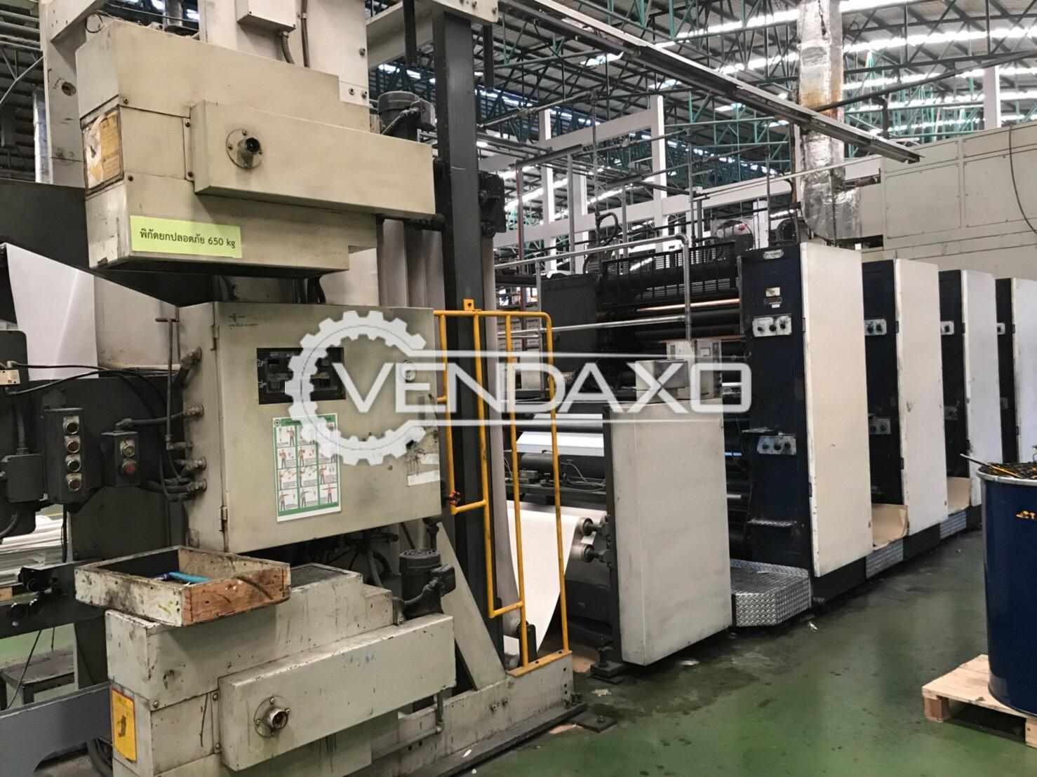 Komori System 35 Commercial Web Printing Machine - 4/4 Color