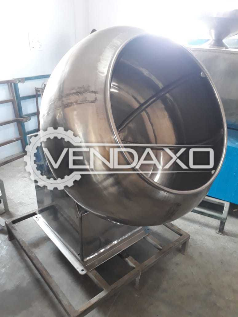 Coating Pan - GMP Model - 36 Inch