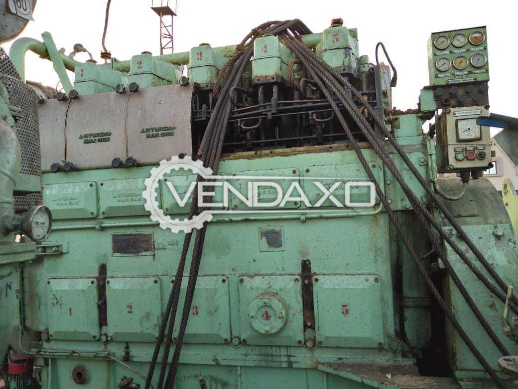 Hyundai Diesel Generator - 750 kVA