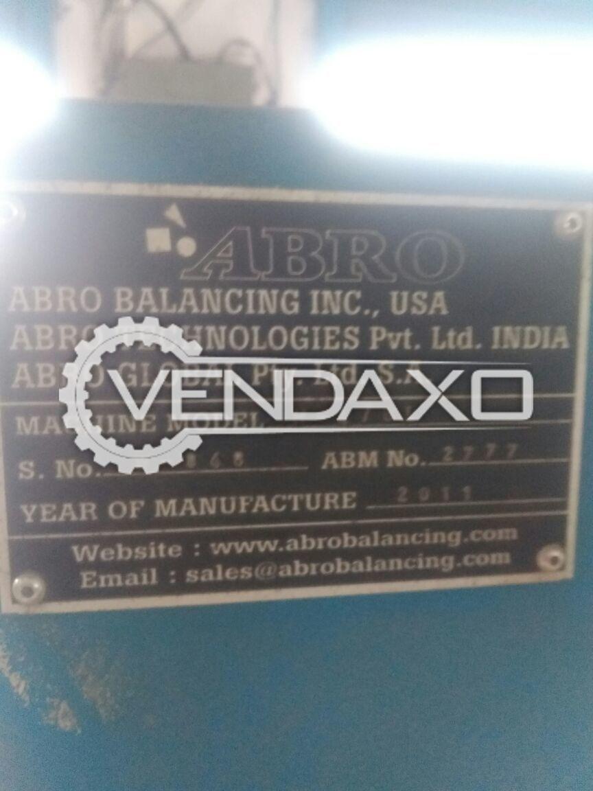 Abro balancing machine 50 kg 3