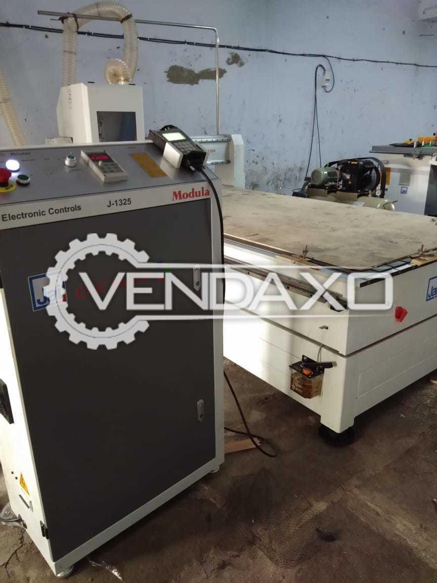 Used Available For Sale CNC Router, Stabilizer, Dust