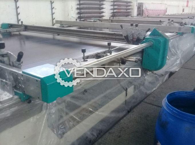 BUSER Flat Bed Textile Printing Machine - Width - 320 CM, 2006 Model