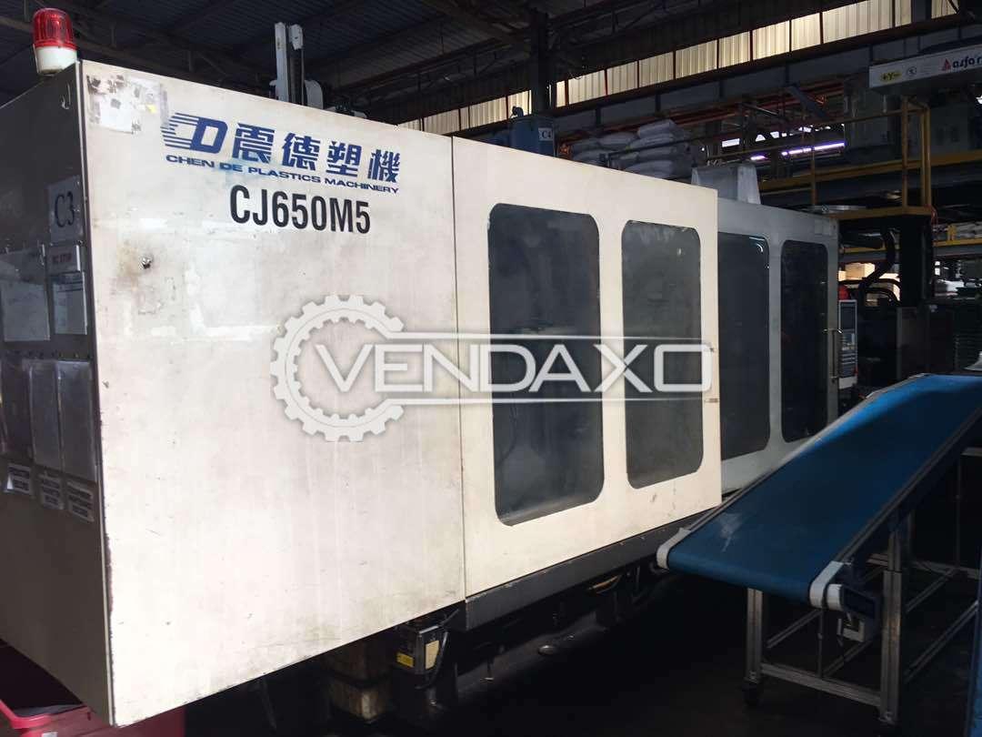 Chen De CJ650M5 Plastic Injection Moulding Machine - 650 Ton