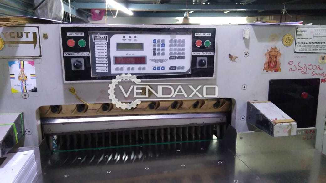 Record Hycut Paper Cutting Machine - 42 Inch