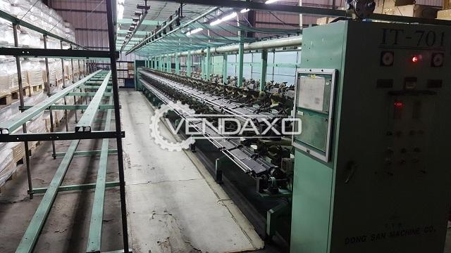 6 Set Of Dong San IT-701 ITY Machine - Winding Speed - 600 M/min