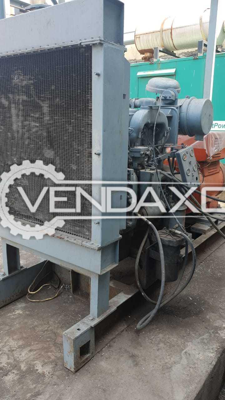 Jyoti Open Diesel Generator - 125 kVA