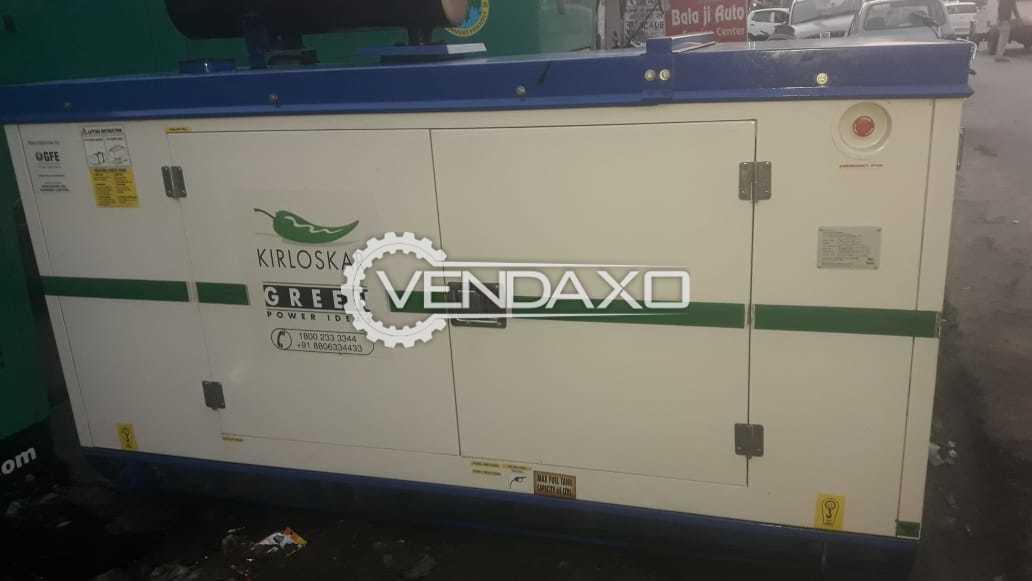 Kirloskar Silent Diesel Generator - 35 kVA