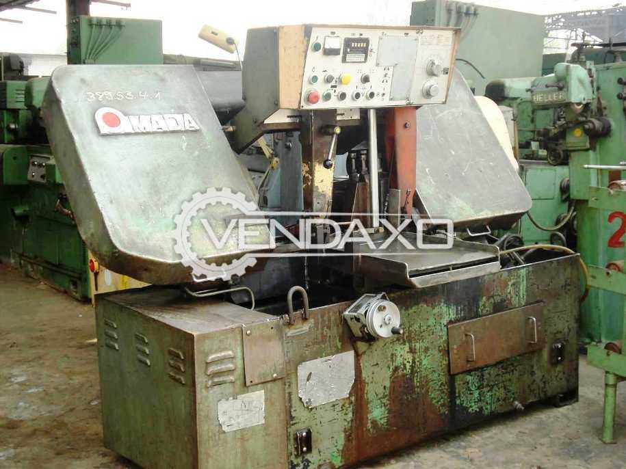 AMADA HA 400 Bandsaw Machine - 400 MM