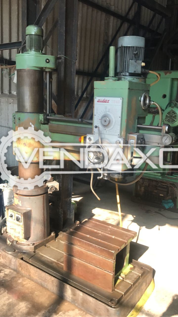 Audax TR40 Radial Drill Machine - 40 MM